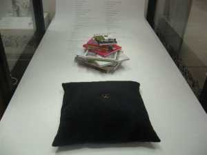 A black ring cushion is hip.. Enhances the bling-bling!
