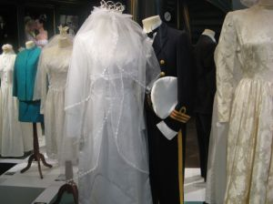 A military man and his wife... Each pair of clothings has its own story. I did not manage to get the stories down.