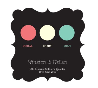 Welcome to our Wedding - The Color Scheme!