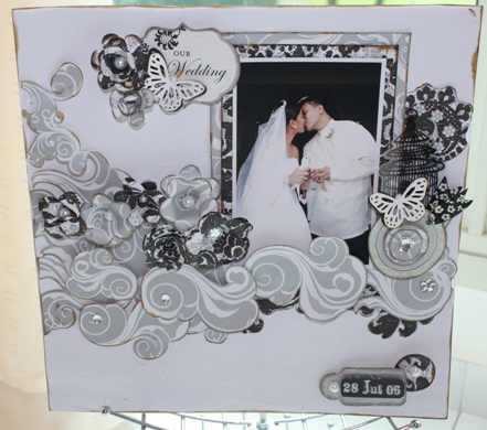 So what 39s more exciting than doing a wedding scrapbook