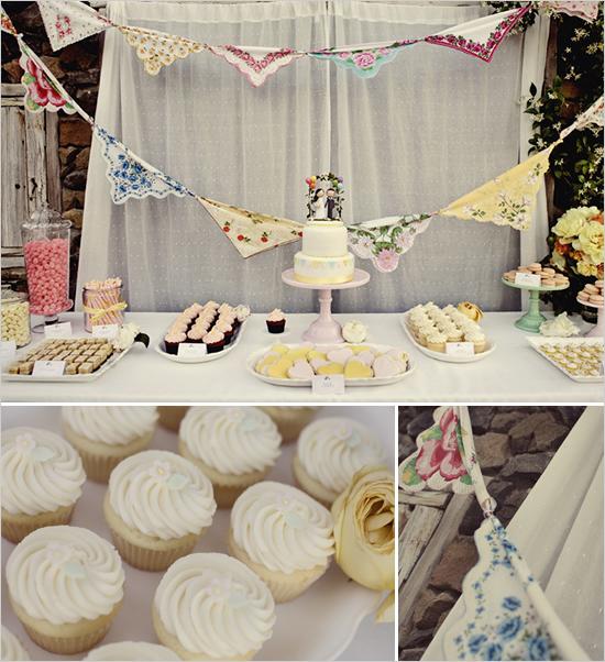 Shabby Chic Wedding Table Ideas : Shabbychic wedding table