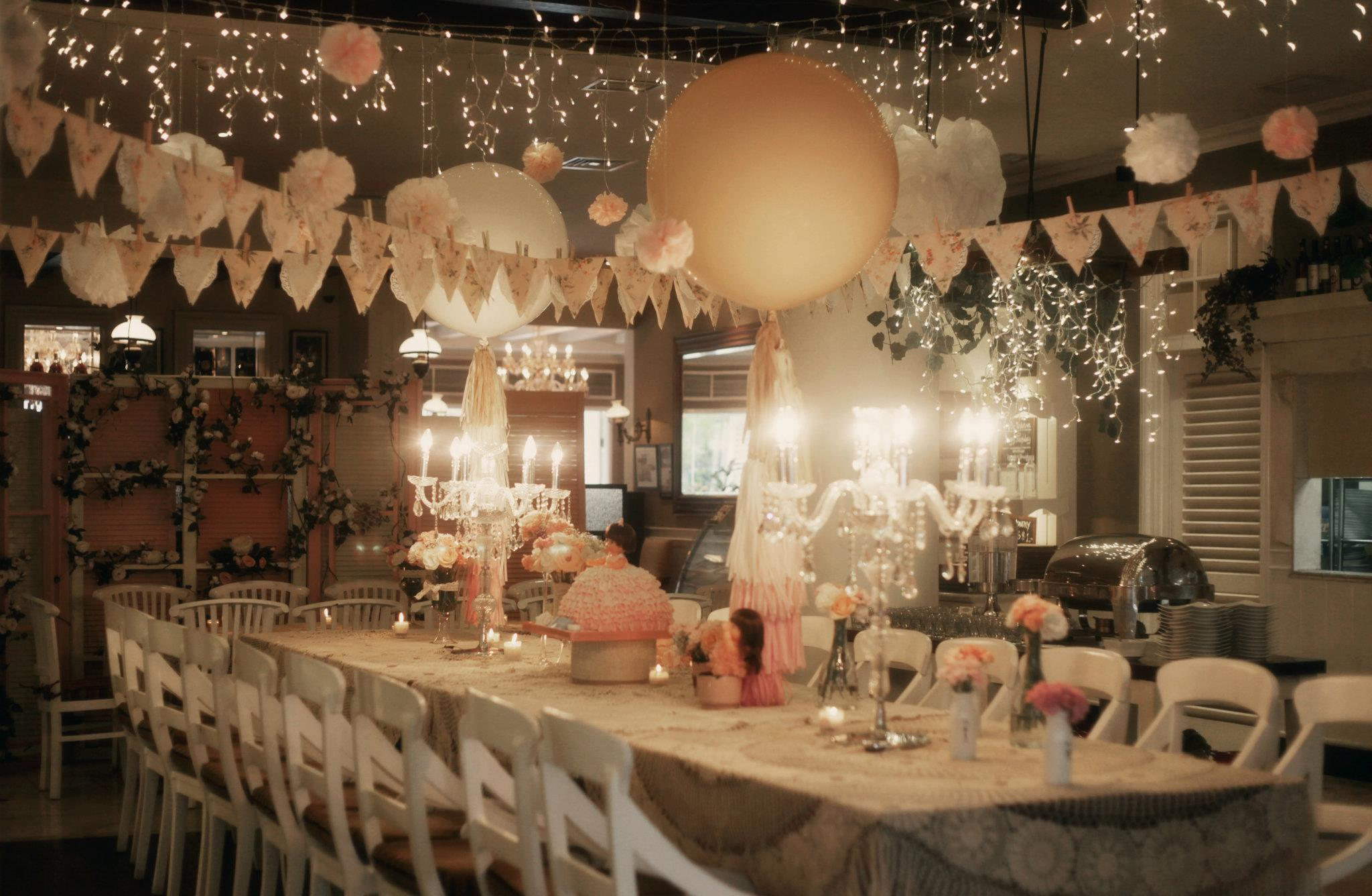 She says magical bash for the miracle baby part 1 we for 17th birthday decoration ideas