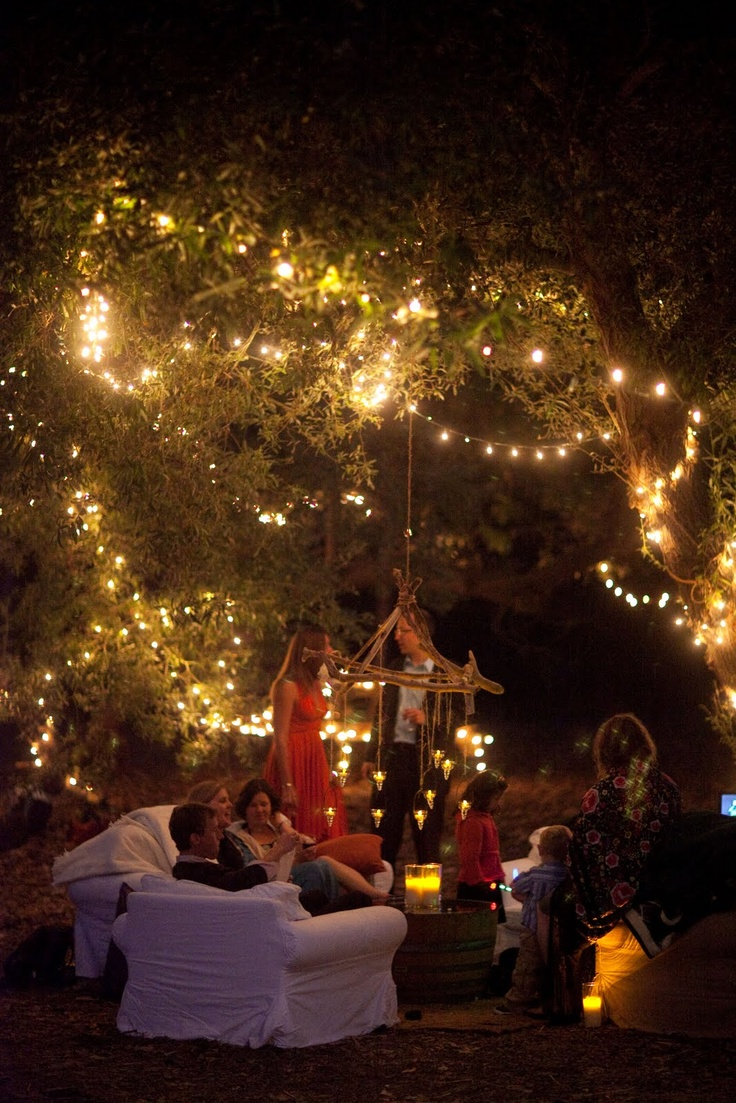 Lighting For Backyard Party : Wedding Ideas Fairy Lights ? we  love  laugh  kiss