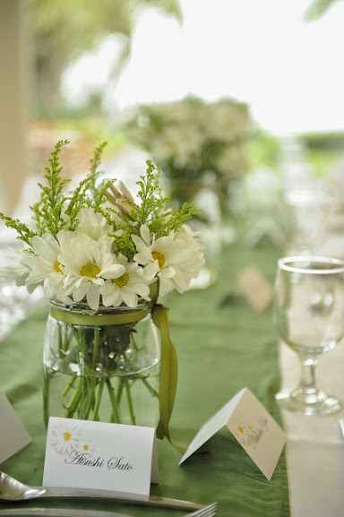 Table setting, placecards