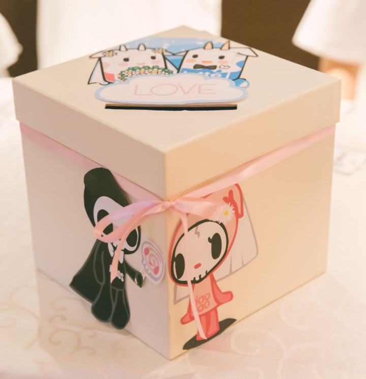 ang bao box -adios, ciao ciao, latte and strawberry milk