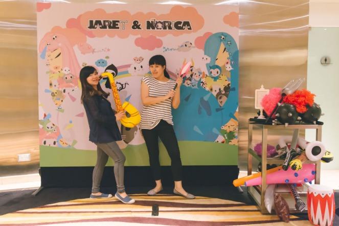 tokidoki photobooth backdrop