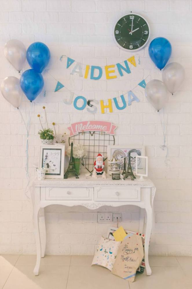 Aiden's baby shower
