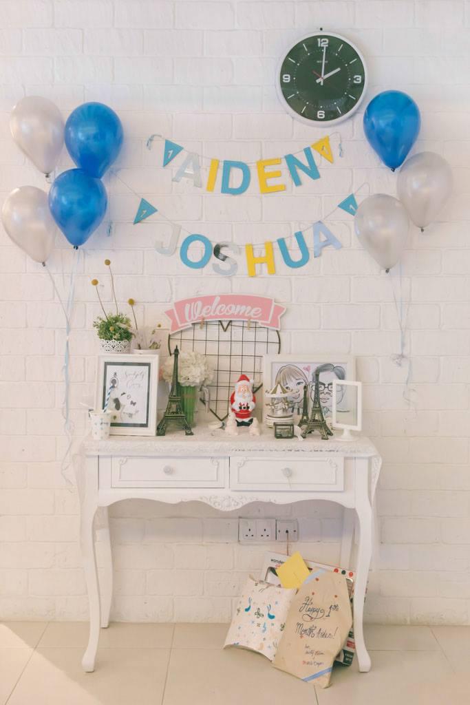 Aiden's baby shower