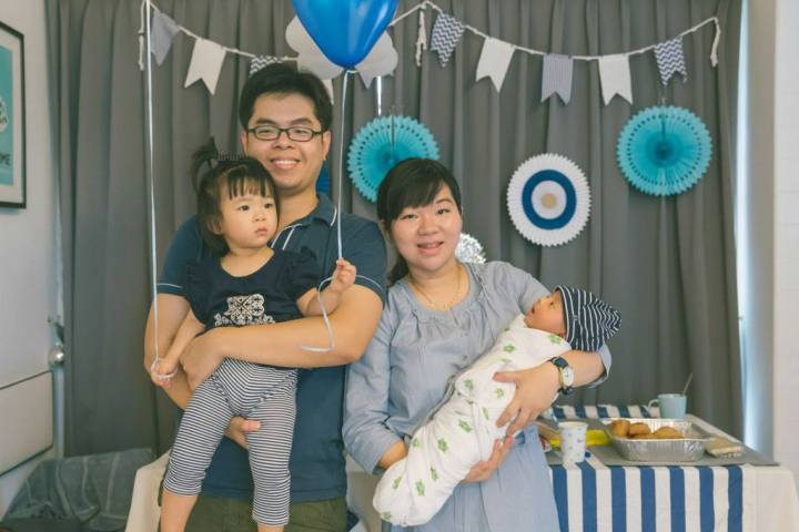 Lim family - Aiden's baby shower
