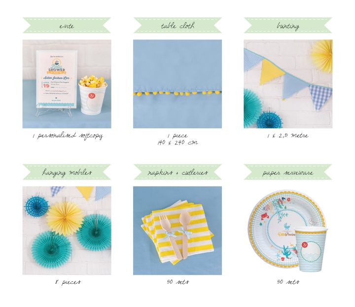 Little Precious DIY baby shower Kit