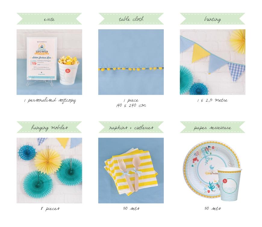 Little Precious DIY baby shower Kit