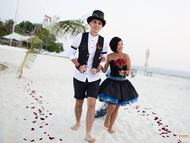 Nikoi Island: Beach Wedding March-In