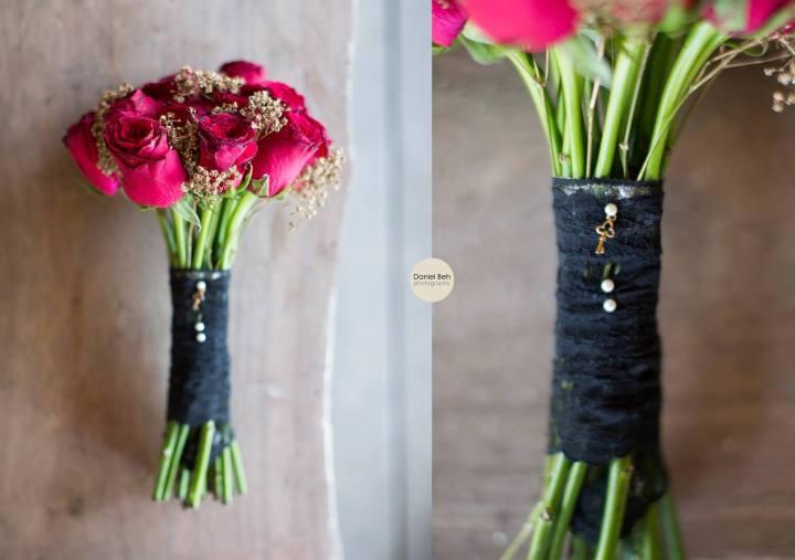 Nikoi Island: Wedding bouquet