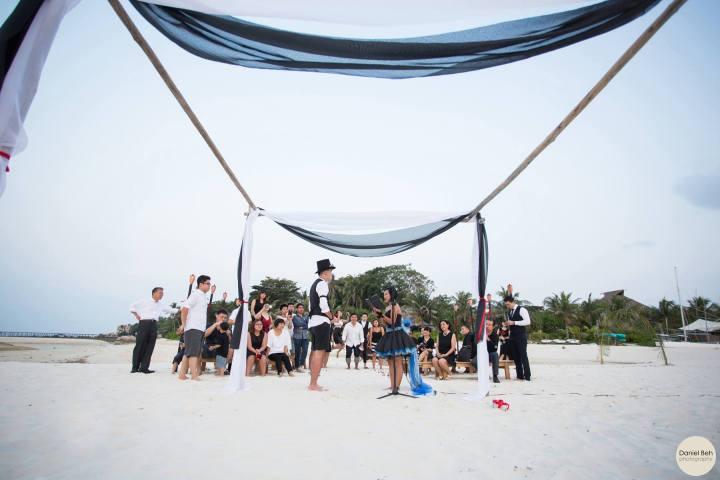 Nikoi Island: Beach Wedding Ceremony