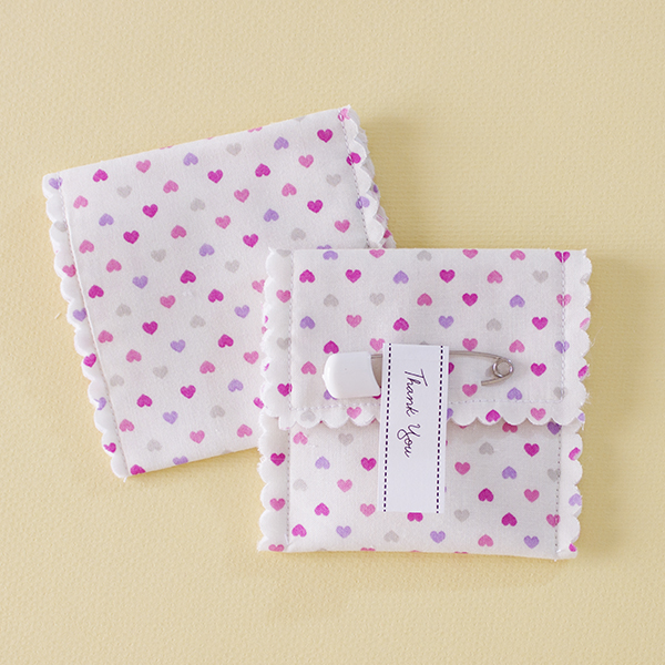 Fafi - Sweet hearts fabric favour pouch