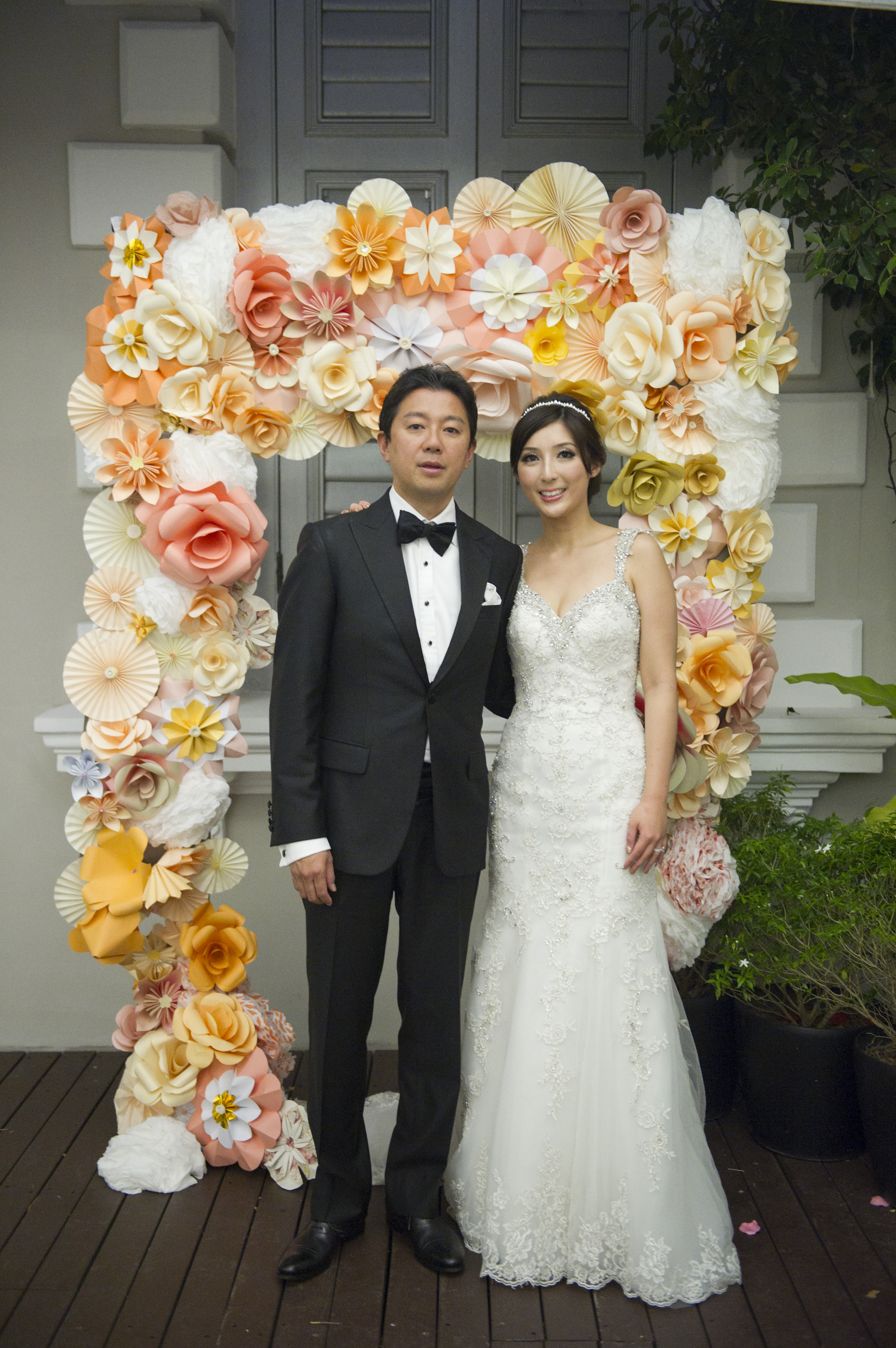 Real Wedding Alex Claudia Flutes National Musuem Behind The