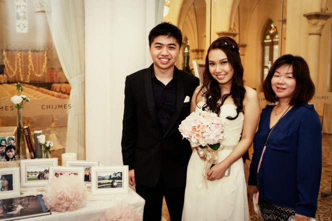 With Matthew & Kate @ Chijmes - Photo credit Light&Memories