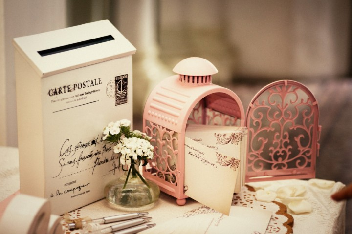 Wishing corner for guests to pen down their wishes for the couple. - Photo credit Light&Memories