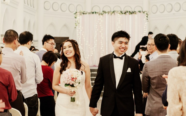 Mr & Mrs Woo. Photo credit - Light&Memories