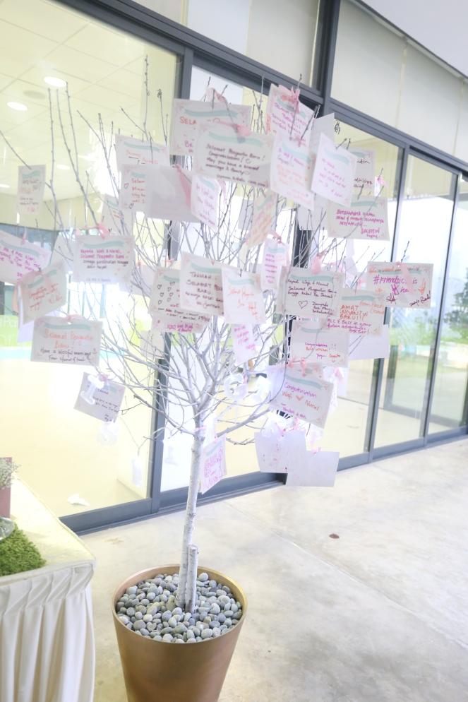 Wishing Tree in white