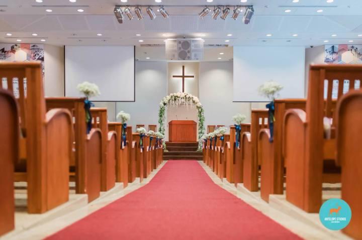 Thomson Road Baptist Church, Wedding arch