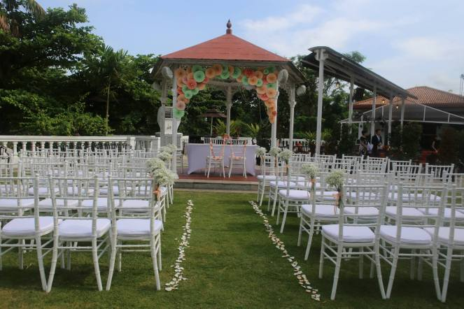 Alkaff Mansion Marquee decor