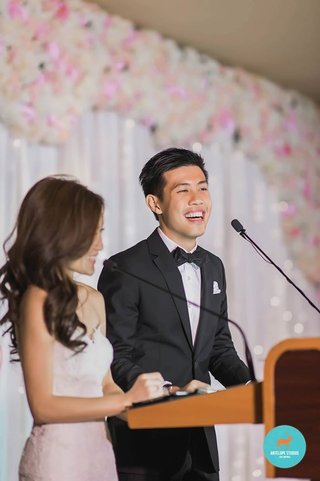 Fullerton Hotel, Couple's Thank you speech