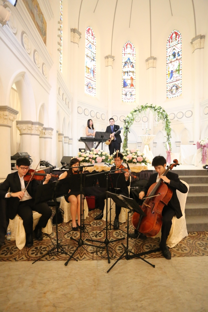 Quartet at Chijmes