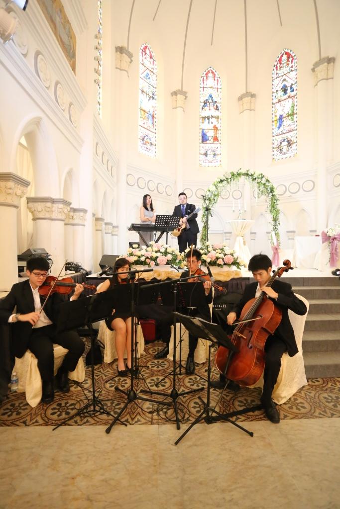 Quartet at Chijmes