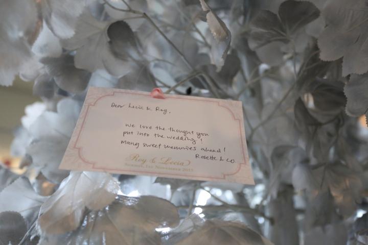 Guest wishing card