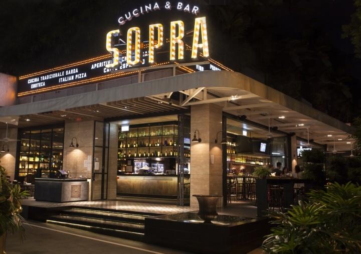 Sopra - signage exterior